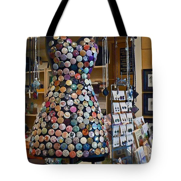 Jewelry Shoppe Tote Bag by Pamela Patch