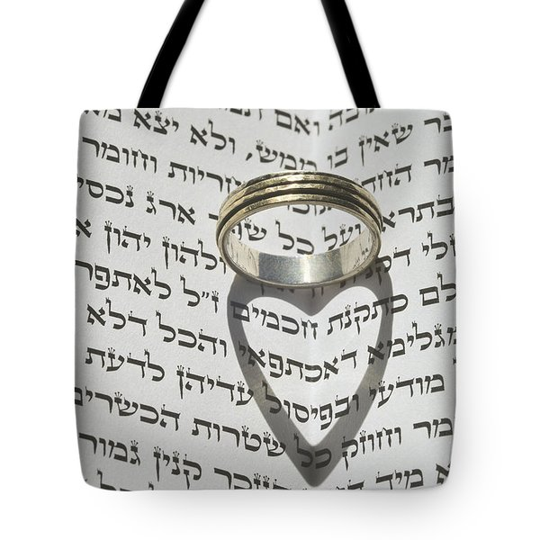 Jewish Wedding concept  Tote Bag by Shay Levy
