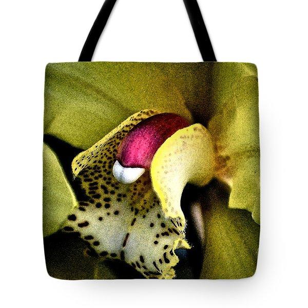 Jimenez Orchid Tote Bag by Gwyn Newcombe