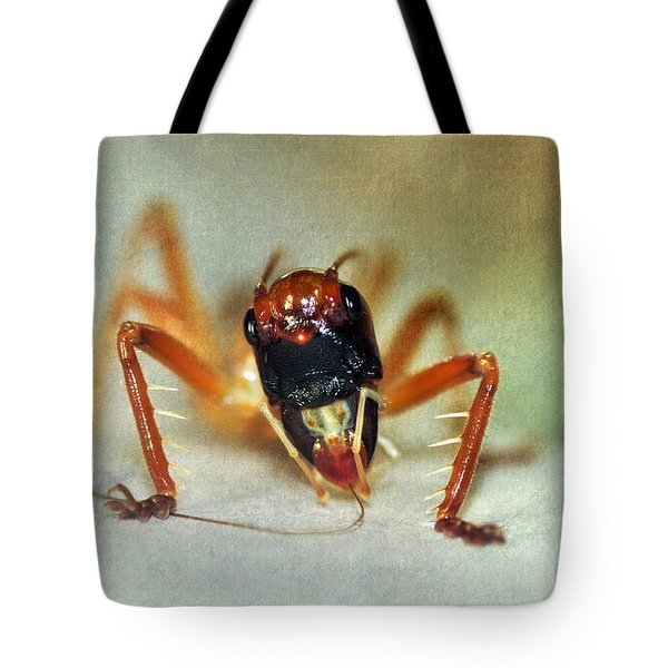 Jiminy Cricket 2 Tote Bag by Kaye Menner