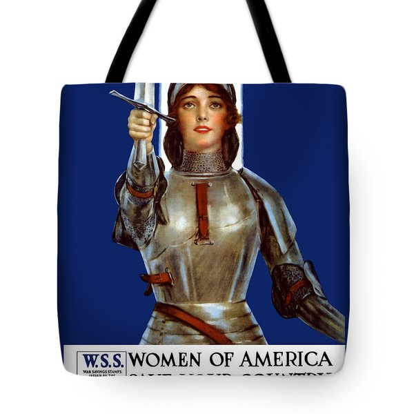 Joan of Arc Saved France Tote Bag by War Is Hell Store