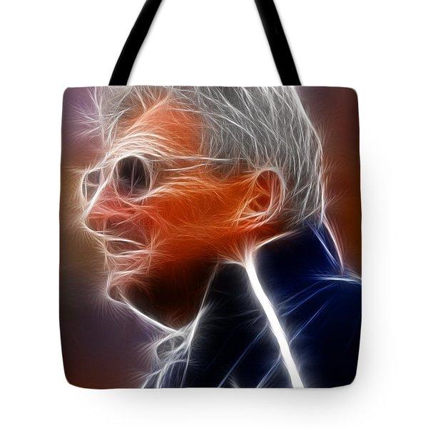 Joe Paterno Tote Bag by Paul Van Scott