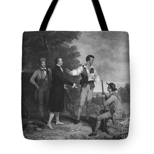 John Andre Tote Bag by Photo Researchers