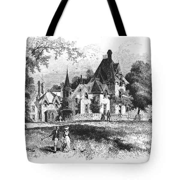John E. Williams Residence Tote Bag by Granger