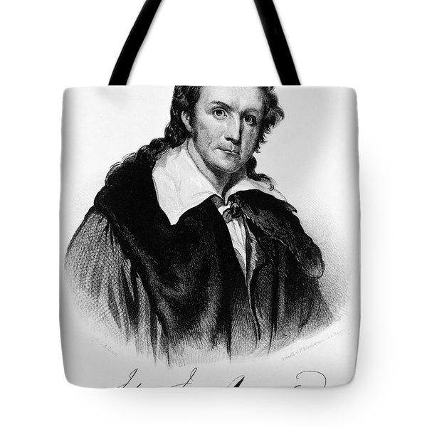 John James Audubon, French-american Tote Bag by Photo Researchers, Inc.