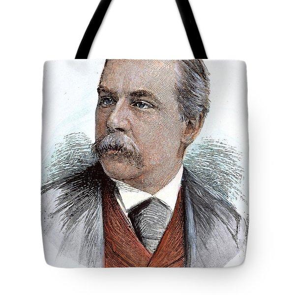 John Pierpont Morgan (1837-1913) Tote Bag by Granger