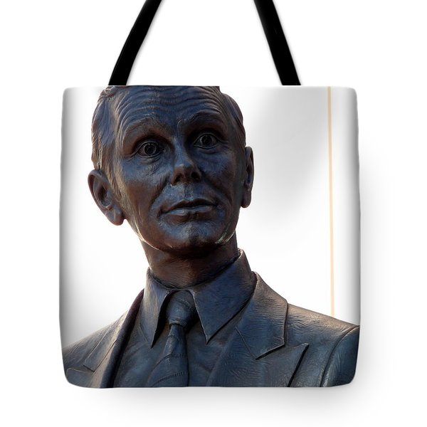 Johnny Carson Tote Bag by Jeff Lowe