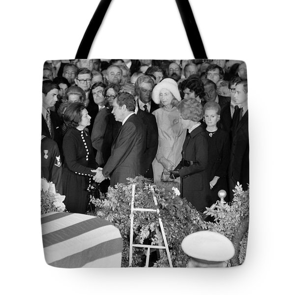 Johnson Funeral, 1973 Tote Bag by Granger