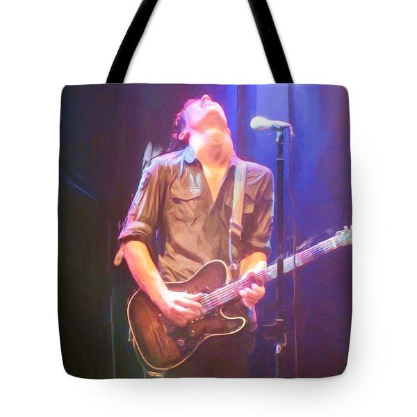 Jonny Lang Tote Bag by Heidi Smith