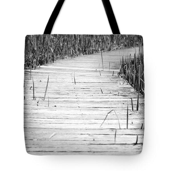 Journey of Soles Tote Bag by Luke Moore