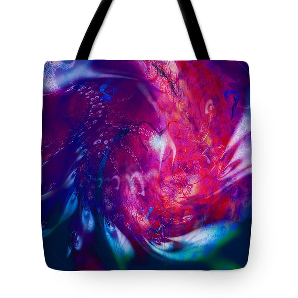 Journeys Of The Heart Tote Bag by Linda Sannuti