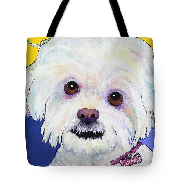 Joy Tote Bag by Pat Saunders-White