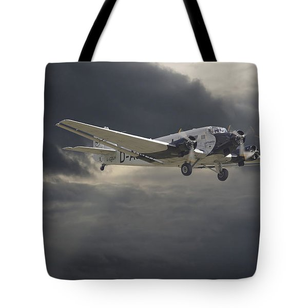 Ju52 -- Iron Annie Tote Bag by Pat Speirs