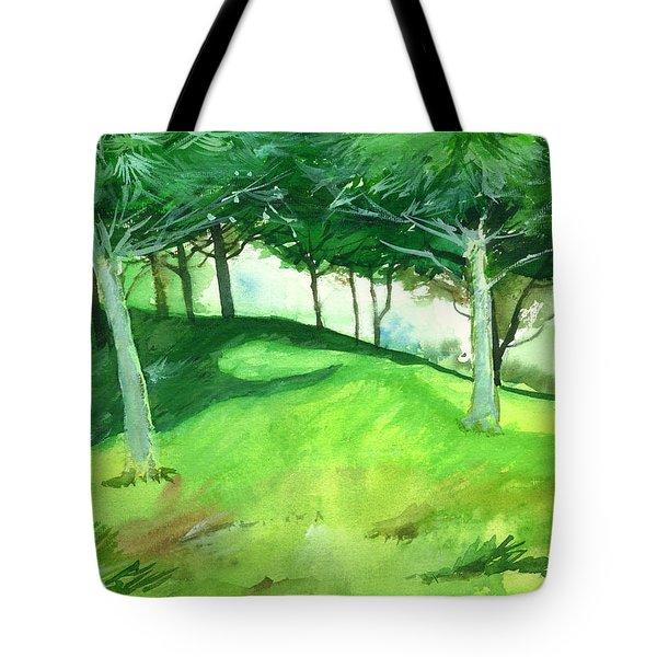 Jungle 2 Tote Bag by Anil Nene