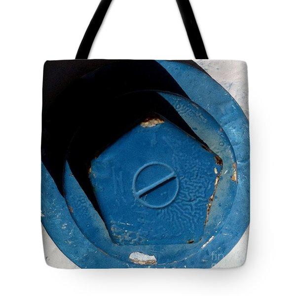JUNGLE GYM 34 Tote Bag by Marlene Burns