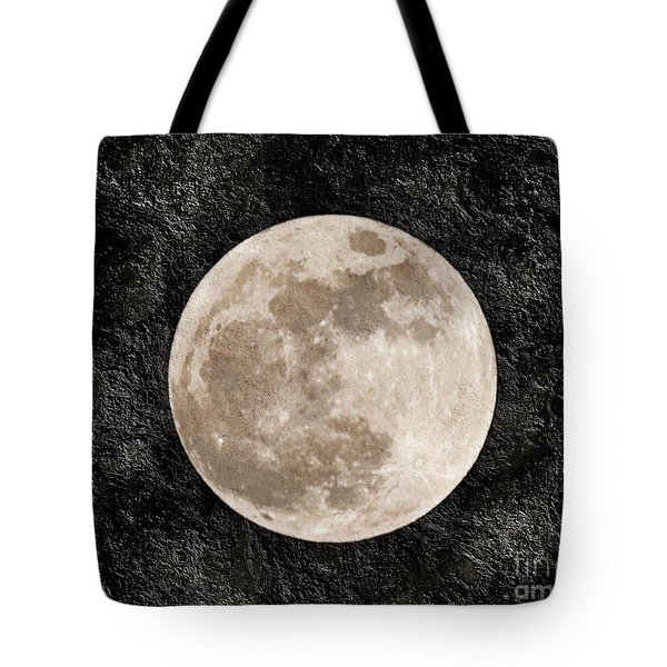 Just A Little Ole Super Moon Tote Bag by Andee Design