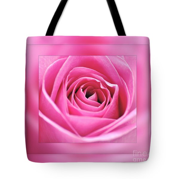 Just Pink Tote Bag by Kaye Menner