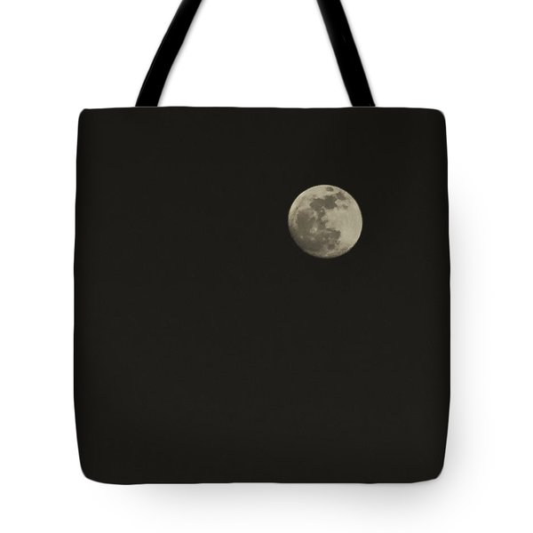 Just The Moon Tote Bag by Roger Wedegis