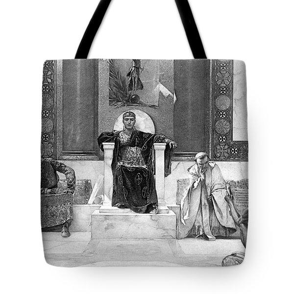 Justinian I (483-565) Tote Bag by Granger