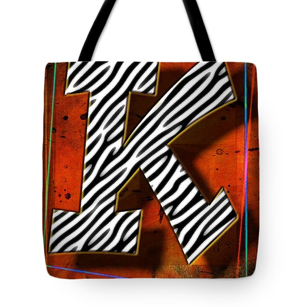K Tote Bag by Mauro Celotti