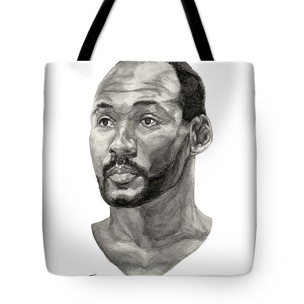 Karl Malone Tote Bag by Tamir Barkan