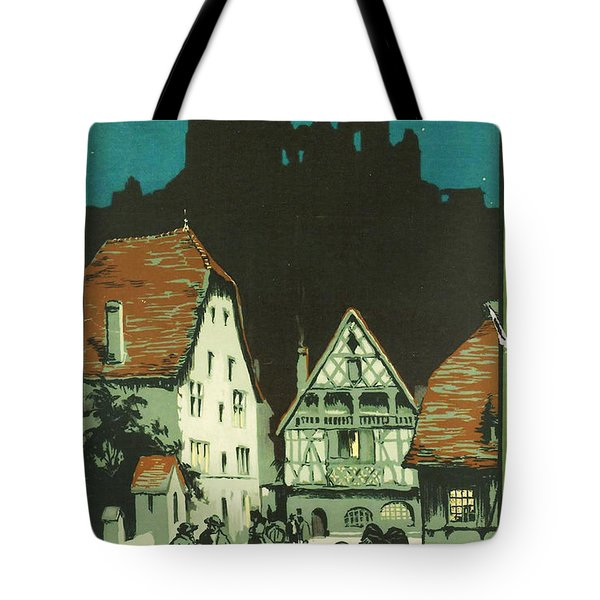 Kaysersberg Alsace Tote Bag by Nomad Art And  Design
