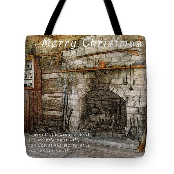 Keep Christmas Merry Tote Bag by Michael Peychich