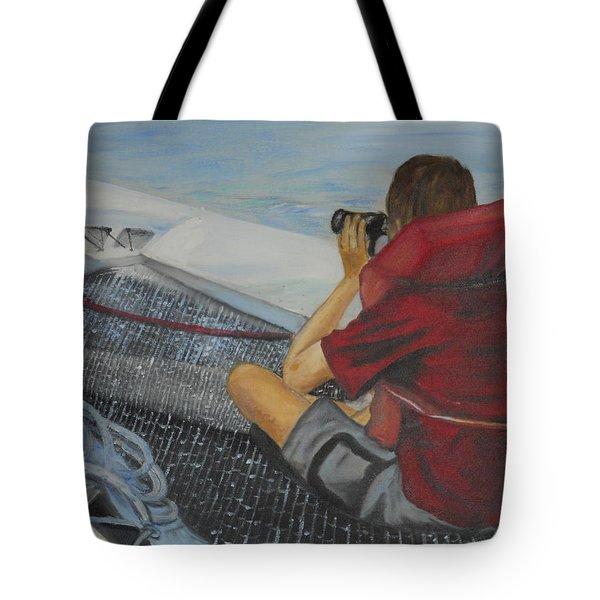 Keeping Watch Tote Bag by Joyce Reid