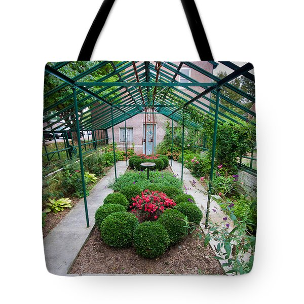 Kentlands Greenhouse Tote Bag by Thomas Marchessault
