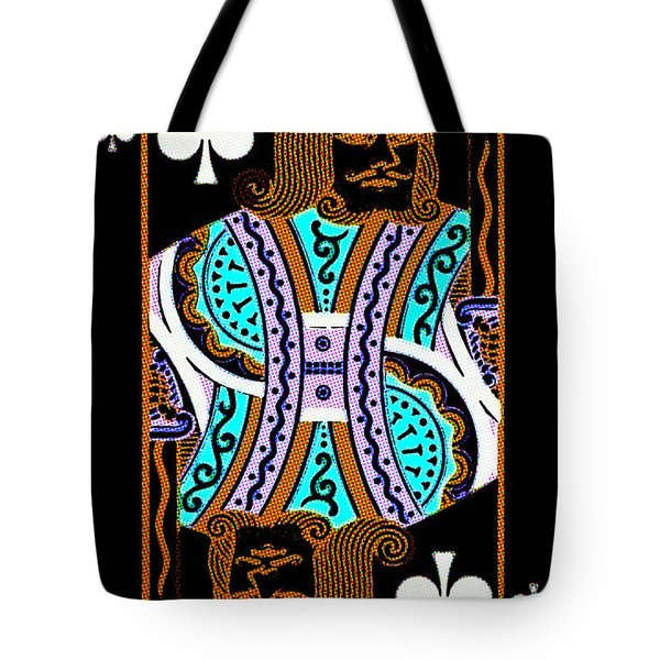 King of Spades Tote Bag by Wingsdomain Art and Photography