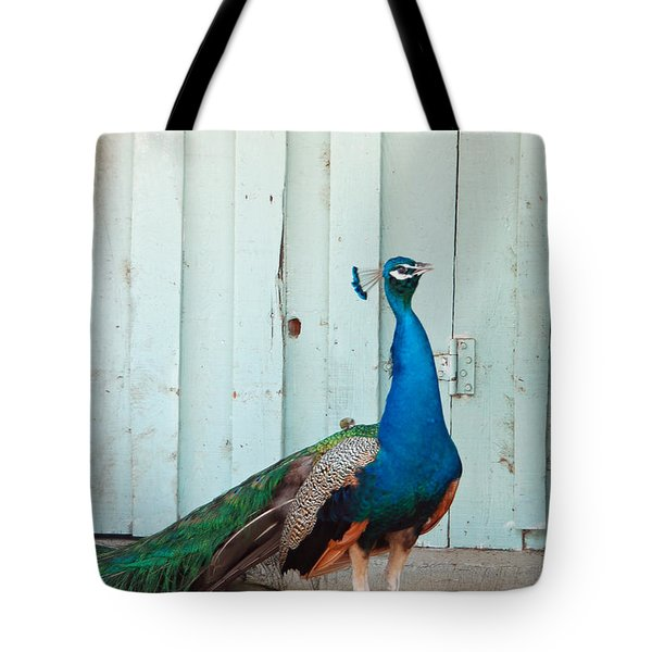King Of The Barnyard Tote Bag by Suzanne Gaff