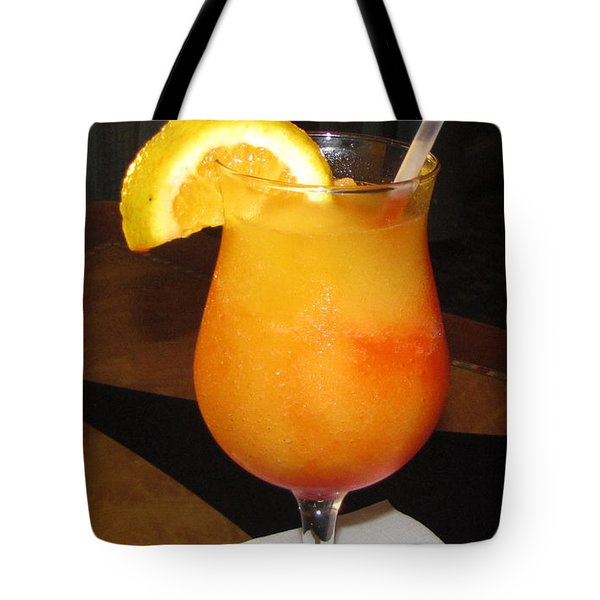 Kiss On The Lips Drink Tote Bag by Denise Keegan Frawley