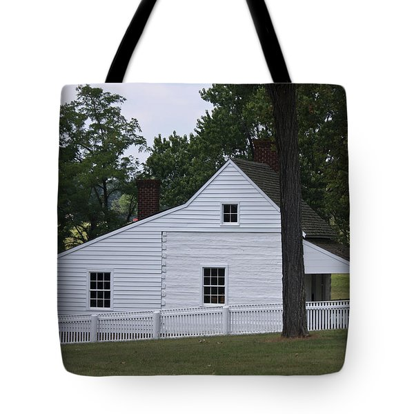 Kitchen and Slave Quarters Appomattox Virginia Tote Bag by Teresa Mucha