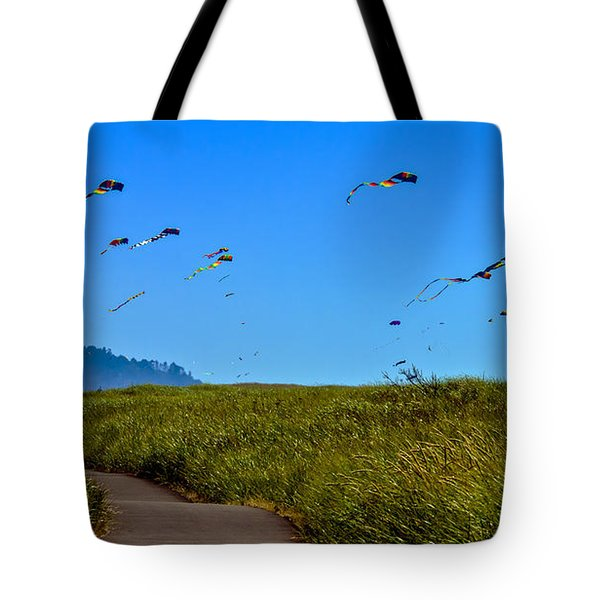 Kites Tote Bag by Robert Bales