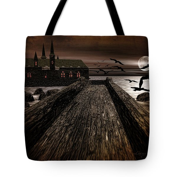 Knight's View Tote Bag by Lourry Legarde