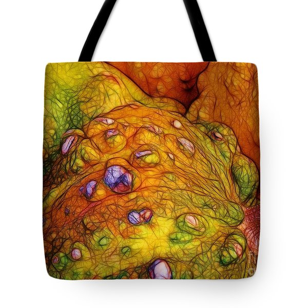 Knobbly Squash Tote Bag by Judi Bagwell