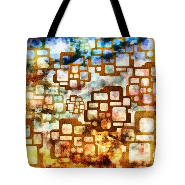 Knowledge Is Not Wisdom 1 Tote Bag by Angelina Vick