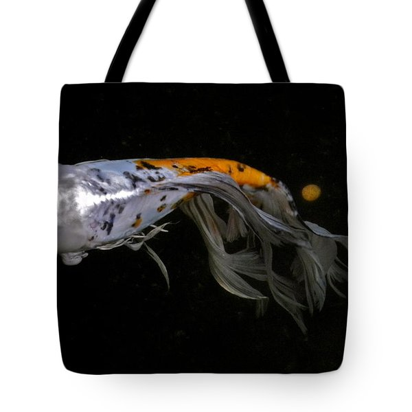 Koi And Coins Tote Bag by Kirsten Giving