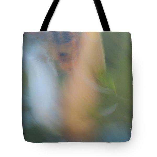koi fish 02 Tote Bag by Catherine Lau