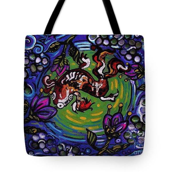 Koi Fish Tote Bag by Genevieve Esson