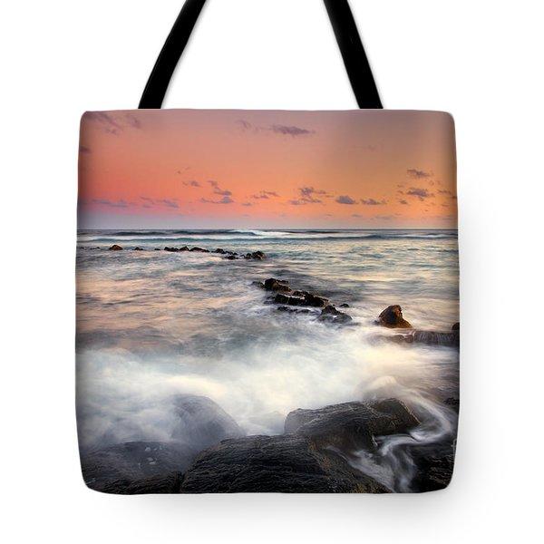 Koloa Dusk Tote Bag by Mike  Dawson