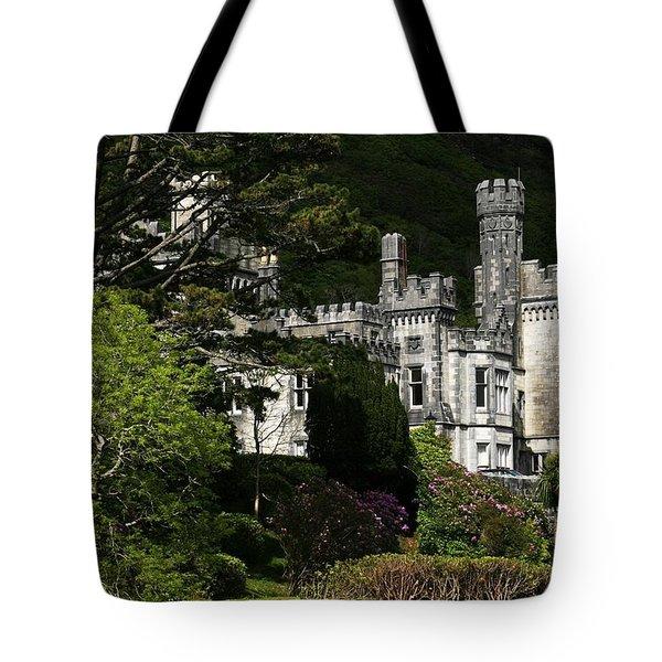 Kylemore Abbey, Connemara, County Tote Bag by Peter Zoeller