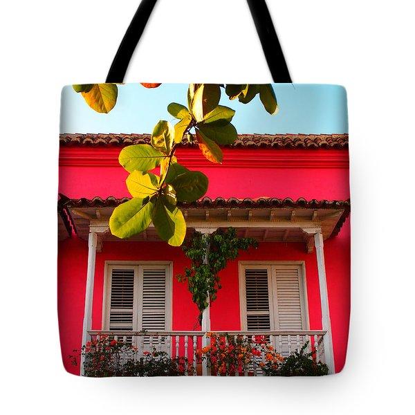 La Casa De Los Duendes Tote Bag by Skip Hunt