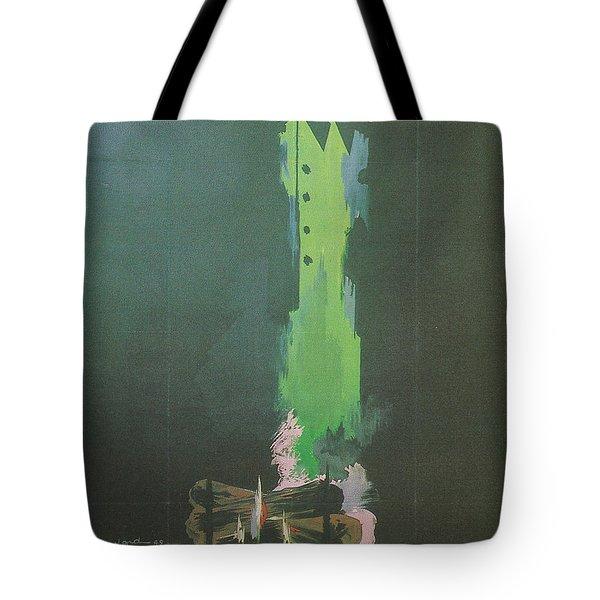 La Silence De La Mer Tote Bag by Nomad Art And  Design