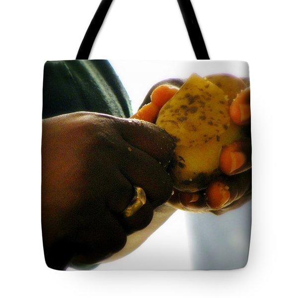 Labors Of Love Tote Bag by Karen Wiles