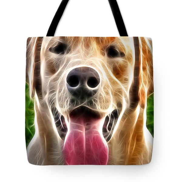 Labrador Retriever Tote Bag by Stephen Younts