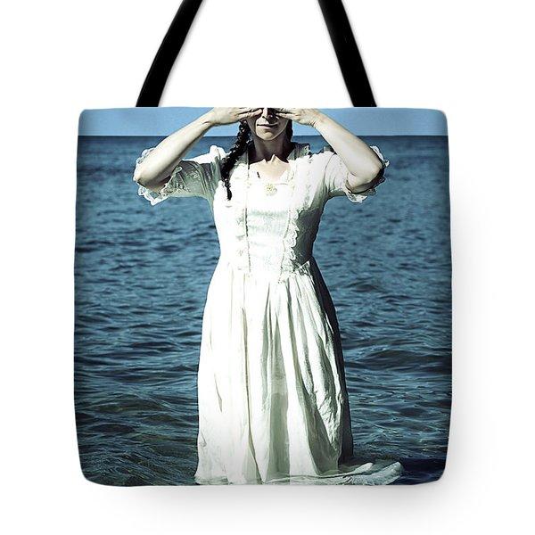 lady in water Tote Bag by Joana Kruse