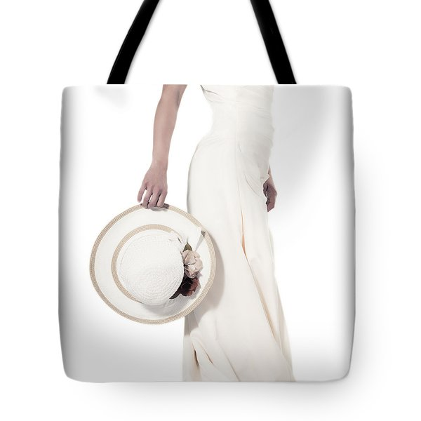 lady with a hat Tote Bag by Joana Kruse