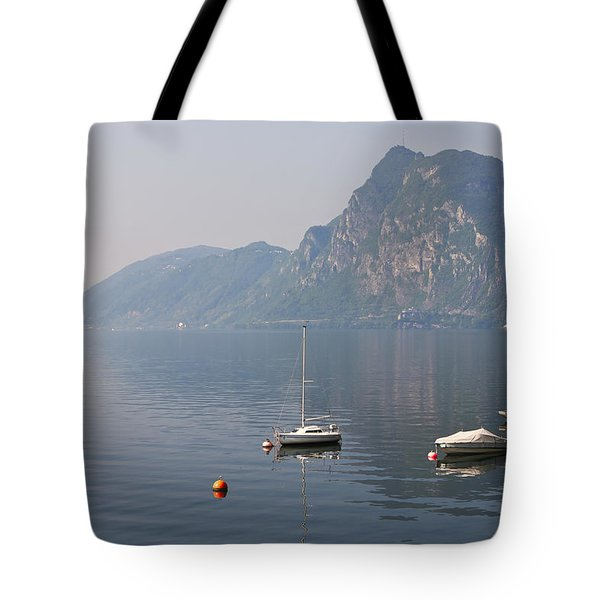 Lago di Lugano Tote Bag by Joana Kruse