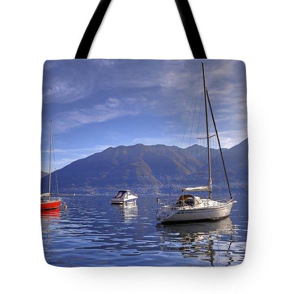 Lago Maggiore Tote Bag by Joana Kruse